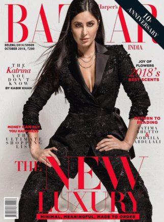 Katrina Kaif On The Cover Of Harper's Bazaar