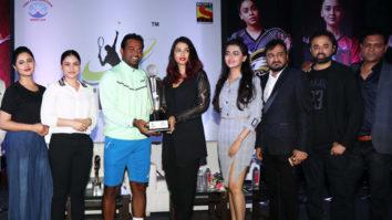 Aishwarya Rai,Sumona Chakravarti,Rashami Desai & others at the launch of Tennis Premier League