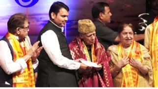 Indian LEGENDARY Music Director Khayyam Ji Honoured with Hridaynath Award