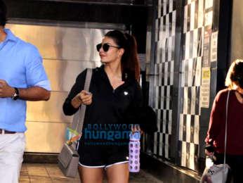 Jacqueline Fernandez snapped at Bombay Adda