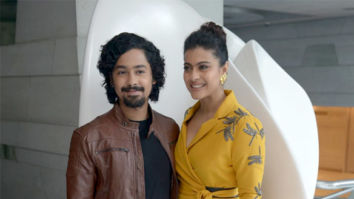 Kajol snapped promoting her film Helicopter Eela