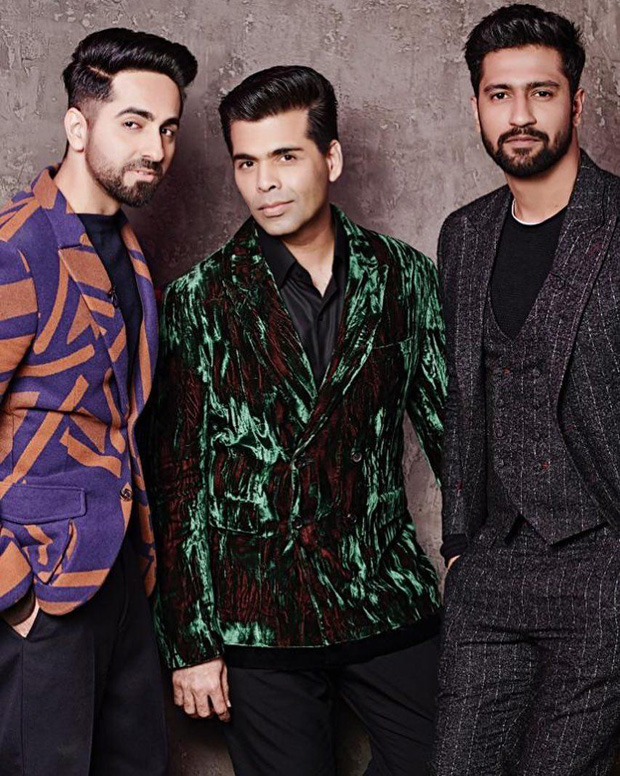 Karan Johar brings breakout stars Ayushmann Khurrana and Vicky Kaushal on Koffee With Karan 6