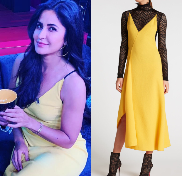 Katrina Kaif in Roland Mouret for KWK 6 (4)