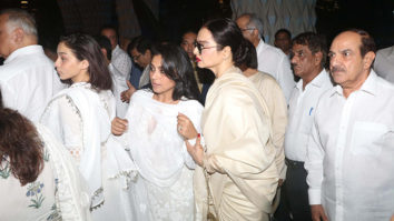 Late Krishna Raj Kapoor's Prayer meet Part 6