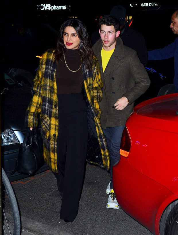 Priyanka Chopra and Nick Jonas get all loved up outside NYC restaurant, make us feel warm and fuzzy