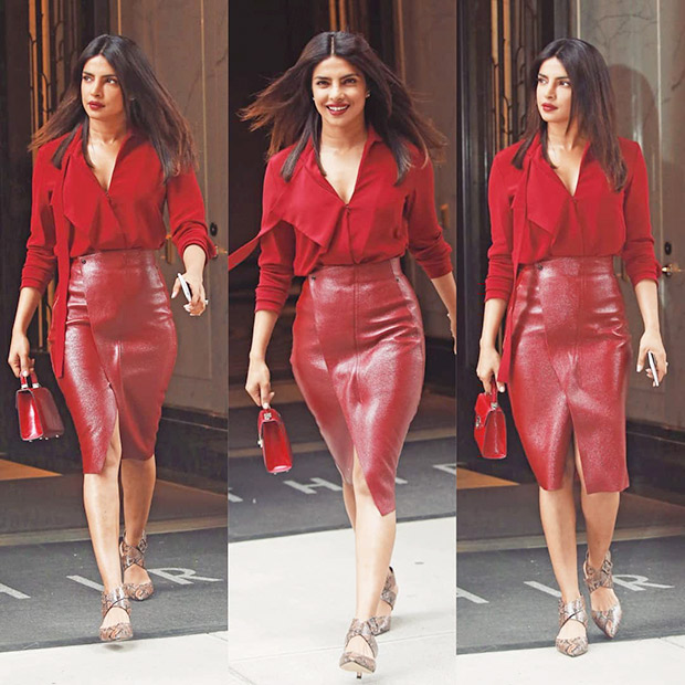 Priyanka Chopra in Akris separates while out and about in NYC (1)