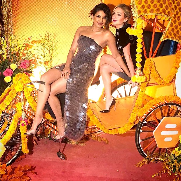 Priyanka Chopra in Sally La Pointe for Bumble India launch in NYC (3)