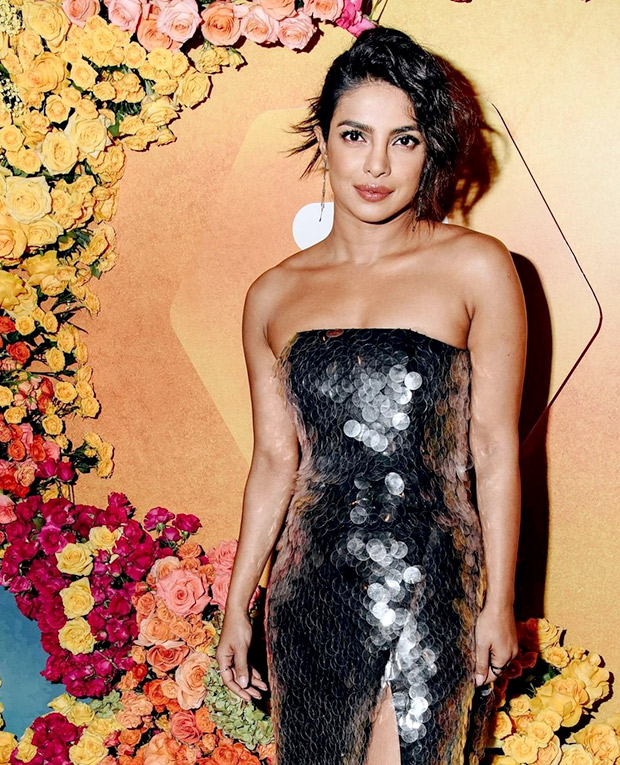 Priyanka Chopra in Sally La Pointe for Bumble India launch in NYC (6)