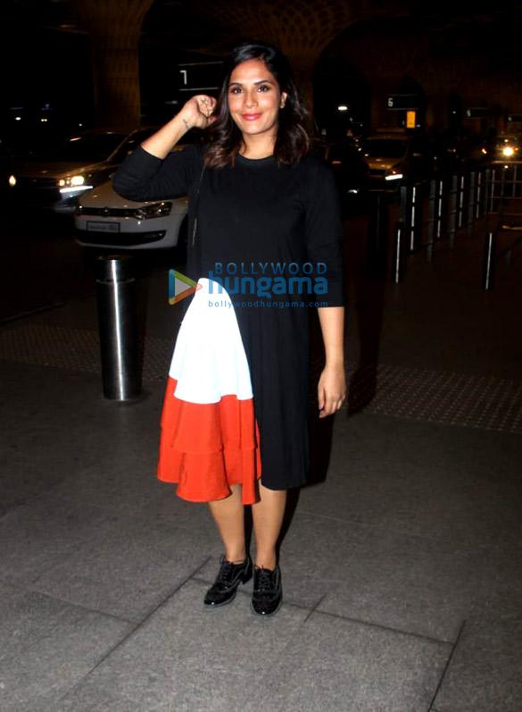 Richa Chadda, Sandeepa Dhar and others snapped at the airport 04
