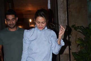 SPOTTED Amrita Arora with family at Bandra