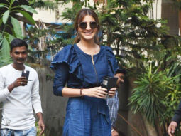 SPOTTED Anushka Sharma at Aanand L Rai's office