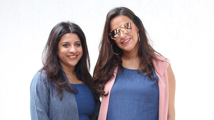 SPOTTED Neha Dhupia & Zoya Akhtar record for #NoFilterNeha season 3