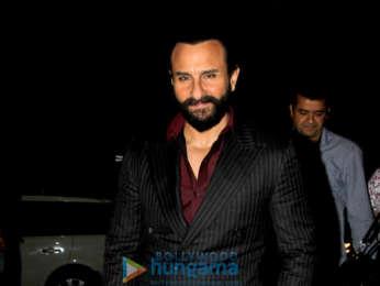 Saif Ali Khan and Chitrangda Singh snapped promoting 'Baazaar'