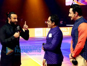 Saif Ali Khan snapped at VIVO Pro Kabaddi League