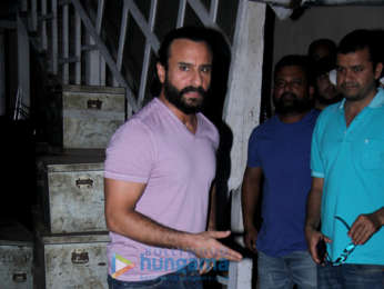 Saif Ali Khan spotted at Mehboob Studio in Bandra