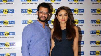 Sharman Joshi and Priyanka Singh promote the film Kaashi – In Search of Ganga at 92.7 Big FM radio station