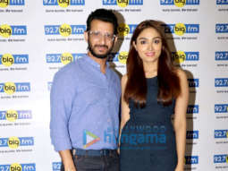 Sharman Joshi and Aishwarya Devan snapped at the 92.7 Big FM office