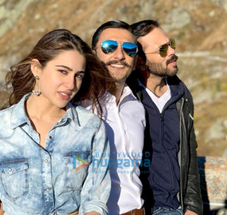 On The Sets Of The Movie Simmba