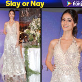 Slay or Nay - Ananya Panday in Manish Malhotra for the Festive Junction Show (Featured)