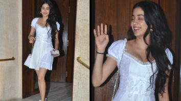 Slay or Nay - Janhvi Kapoor in Daisy at Manish Malhotra's house post dinner (Featured)