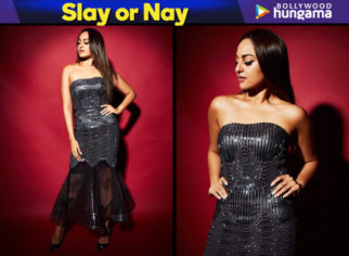 Slay or Nay - Sonakshi Sinha in Amit Aggarwal for Elle Beauty Awards 2018