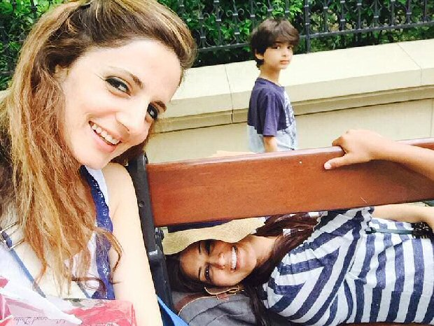 Sonali Bendre takes Sussanne Khan back to childhood days on her birthday