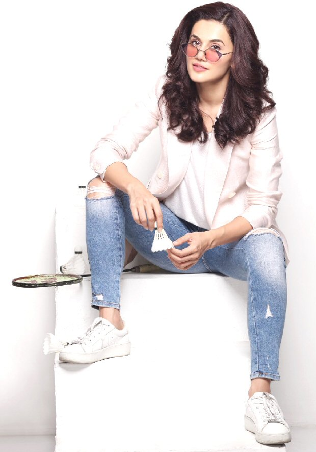 Taapsee Pannu ventures into Sports and has bought a team in the Premiere Badminton League