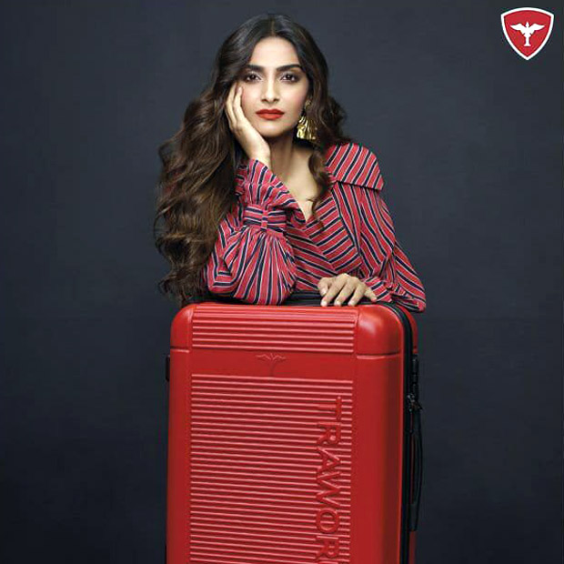 Traworld, premium luggage brand ropes in Sonam Kapoor Ahuja as its brand ambassador