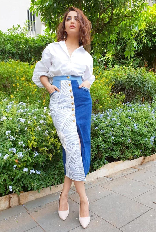Yami Gautam for live interviews at Facebook office (6)
