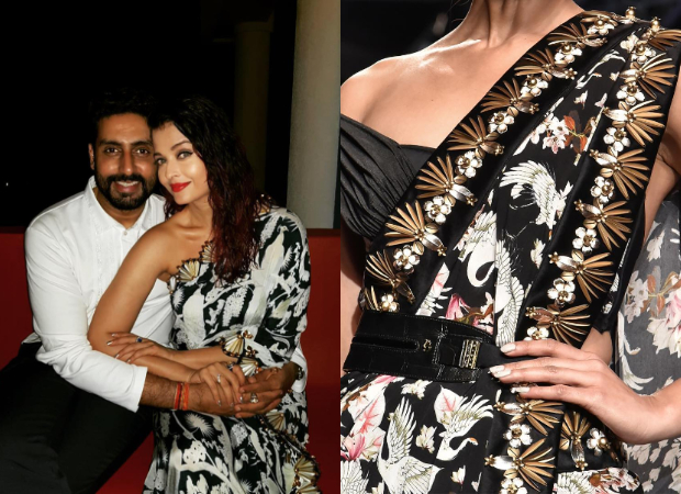 Aishwarya Rai Bachchan in Shivan & Narresh for her birthday dinner (4)