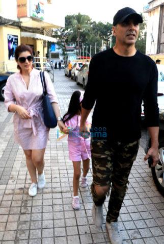 Akshay Kumar and family spotted at PVR, Juhu