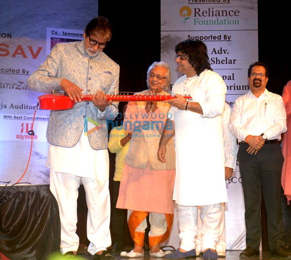 Amitabh Bachchan snapped at the launch of Kartick Kumar Foundation (6)