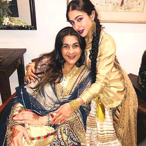 Amrita Singh feels ODD to talk about Sara Ali Khan post Kedarnath teaser launch, here's why