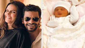 Angad Bedi and Neha Dhupia share a glimpse of their newborn daughter and announce her name