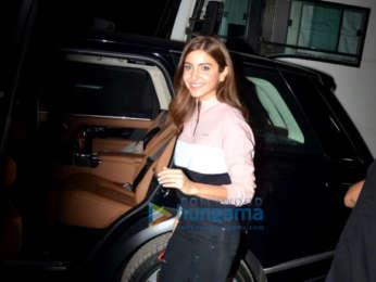 Anushka Sharma snapped at Mehboob Studios in Bandra