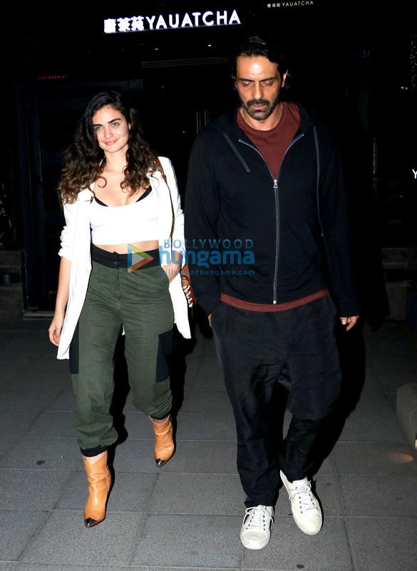 Arjun Rampal and Gabriella Demetriades spotted at Yauatcha in BKC (4)