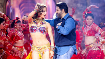 Behind The Scenes Elli AvRam shoots for remake of iconic 90's song Chamma Chamma