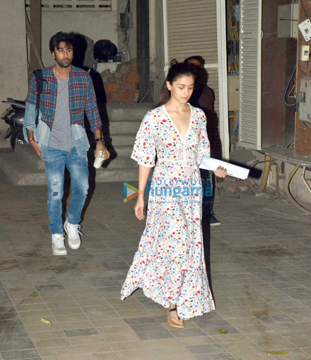 Brahmastra couple Ranbir Kapoor and Alia Bhatt begin prep for next schedule with dance rehearsals