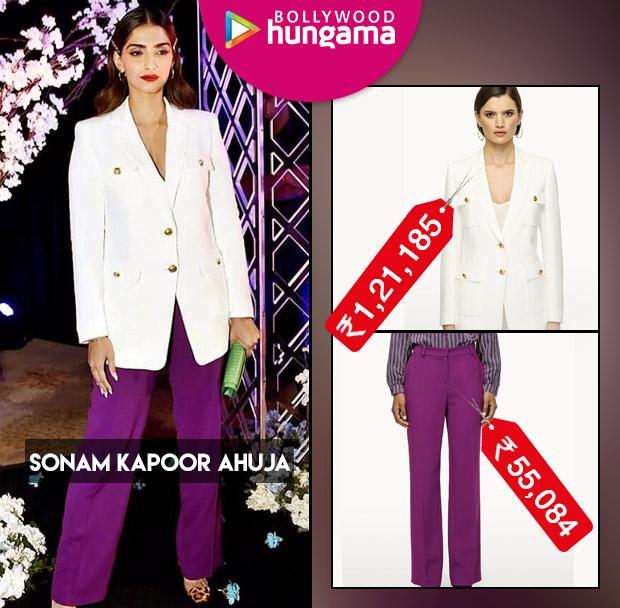 Celebrity Splurges - Sonam Kapoor Ahuja