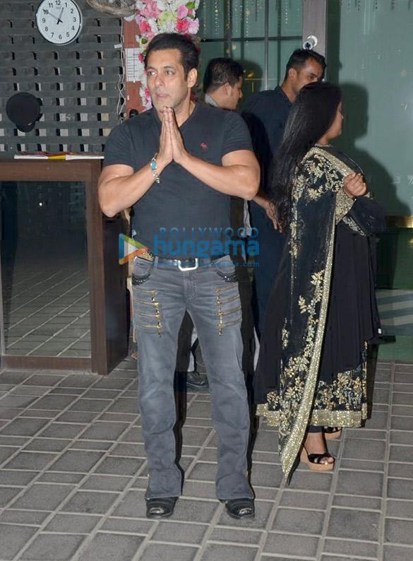 Celebs grace Aayush Sharma and Arpita Khan's Diwali bash