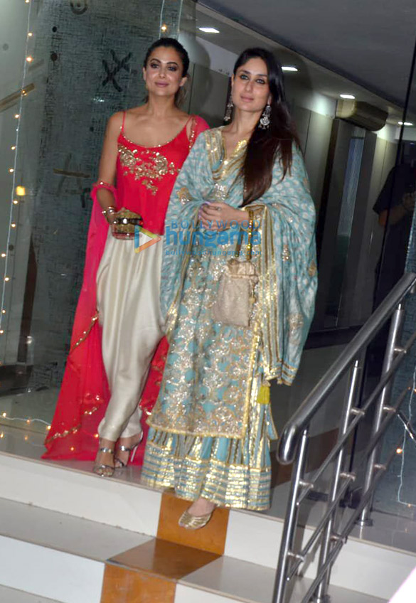 Celebs grace Mallika Bhatt's Diwali bash