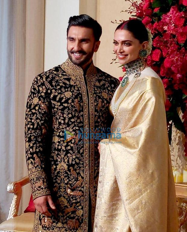Ranveer Singh Reception: Newlyweds Look