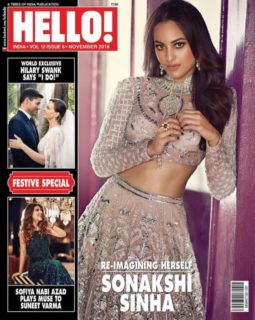 Sonakshi Sinha On The Cover Of Hello!