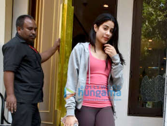 Janhvi Kapoor spotted at Manish Malhotra's store in Bandra