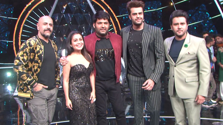 Kapil Sharma at Indian Idol season 10 for a special episode