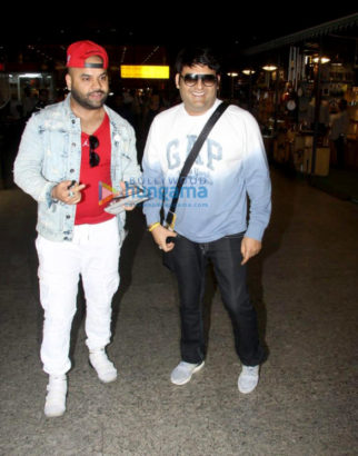 Kapil Sharma snapped at the airport