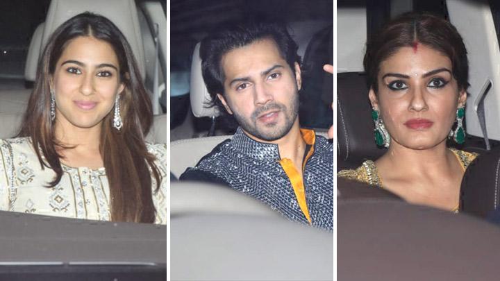 Karan Johar's Diwali Party with many Celebs Varun Dhawan,Shraddha Kapoor, Kriti Sanon