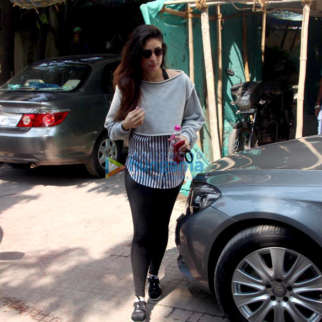 Kareena Kapoor Khan & Aditi Rao Hydari snapped outside the gym