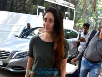 Kareena Kapoor Khan and Soha Ali Khan spotted at Mehboob Studio in Bandra (3)
