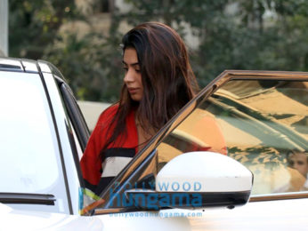 Khushi Kapoor spotted in Juhu